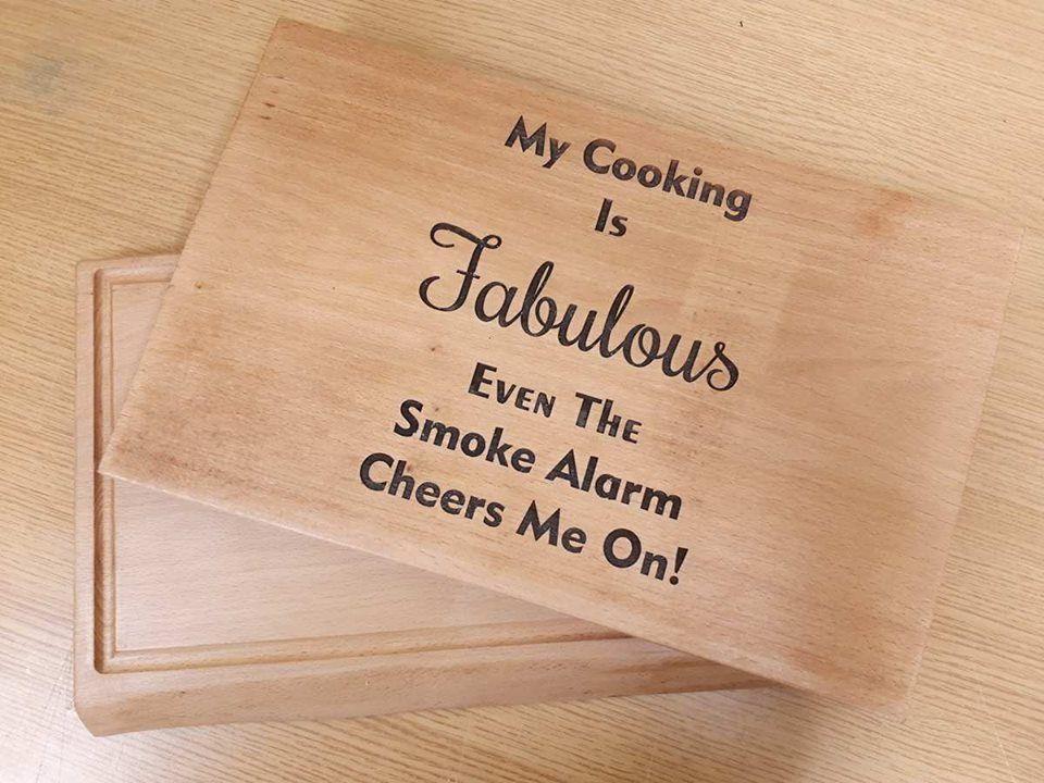 Solid Beech Chopping Board