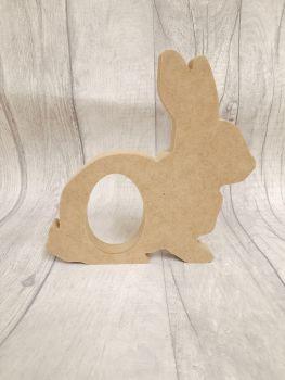 Sitting Rabbit chocolate Egg Holder