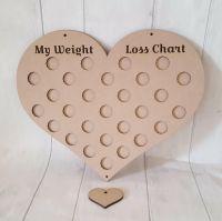 Heart weightloss chart