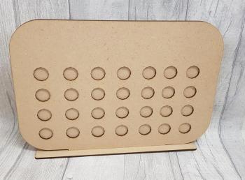 rectangular weightloss chart