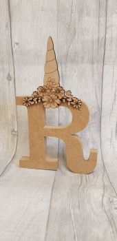 Freestanding Letter with Topper