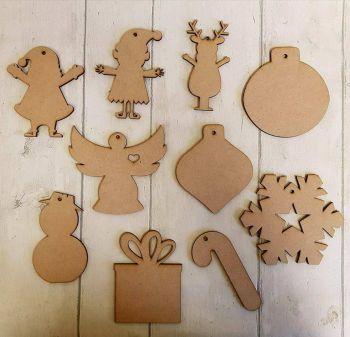 Bundle of Christmas Shapes (50)