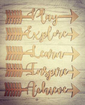 Word Arrows