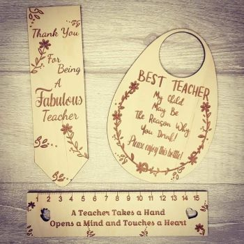 Set of 3 Teacher Gifts (unpersonalised)
