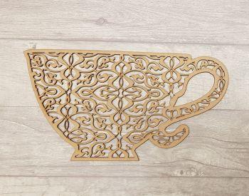 Decorative Teacup