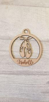 Ballet Shoe Bauble
