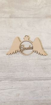 Round Wing Bauble