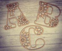 Mandela style  Decorative Letters