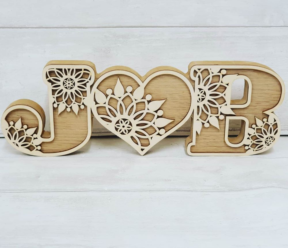Decorative Letters and Shapes