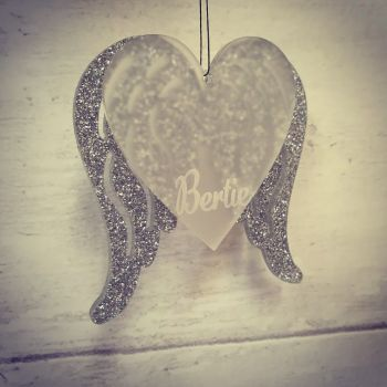 Winged Heart Bauble