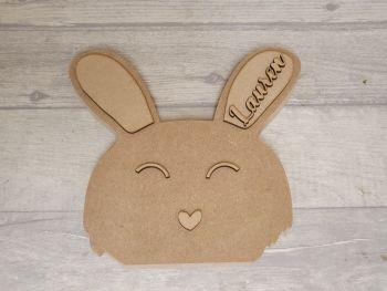 Freestanding Bunny Head