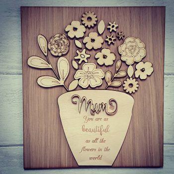 Flowerpot Plaque
