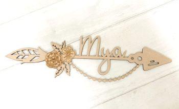 Decorative Arrow Floral