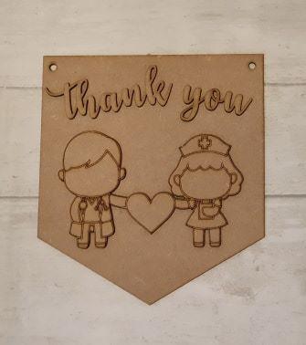 Keyworker Appreciation Bunting - NHS