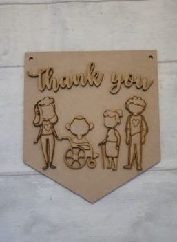 Keyworker Appreciation Bunting - Carers
