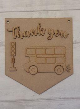 Keyworker Appreciation Bunting - Bus Drivers