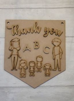 Keyworker Appreciation Bunting - Teachers