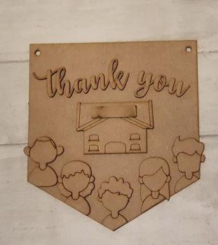 Keyworker Appreciation Bunting - Retail