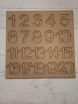 Number Puzzle (flat)