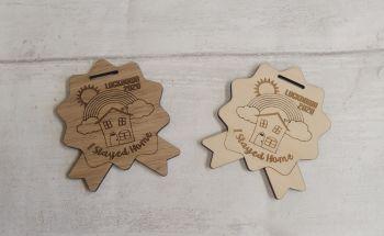 Plywood medal - lockdown 2020