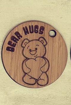Bear Hugs keyring