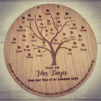 Apple Tree Class Teacher Gift (20cm) (POSTAGE INCLUDED)