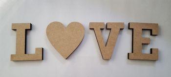 L (HEART) V E Set (9mm)
