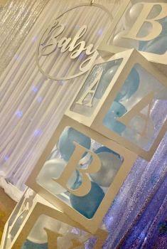 40cm Balloon Acrylic Blocks (Sold Blank)