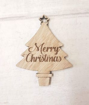 Mini Christmas Tree Tags