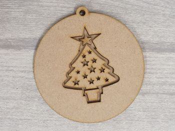 Layered Design Bauble - Christmas Tree