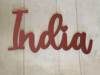Acrylic Wall Name