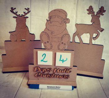 Days Until Christmas - Sitting Reindeer