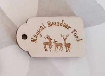 Magic Reindeer Food Tag