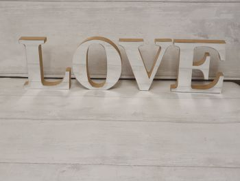 Freestanding Acrylic Letters