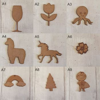 MDF Shapes (Various)