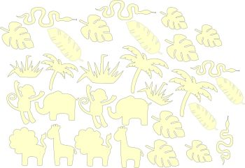 Craft Shape Bundle - Safari