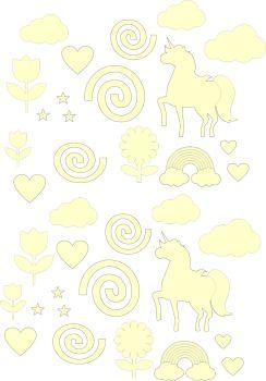 Craft Shape Bundle - Unicorn