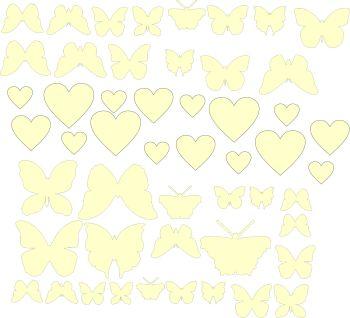 Craft Shape Bundle - Butterflies