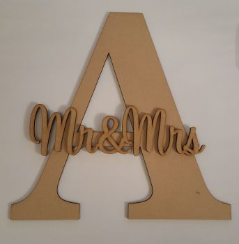 20cm Freestanding Initial and Name