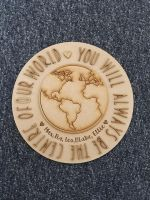Centre of Our World Plaque