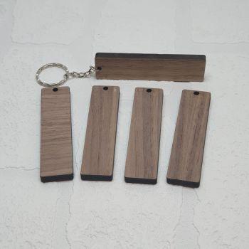 Veneer keyring (8x2cm)