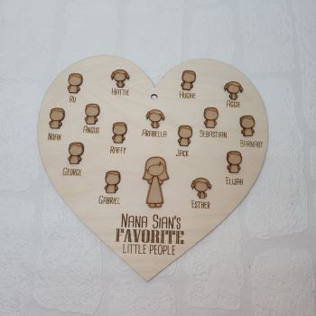 Favorite People Heart 25cm