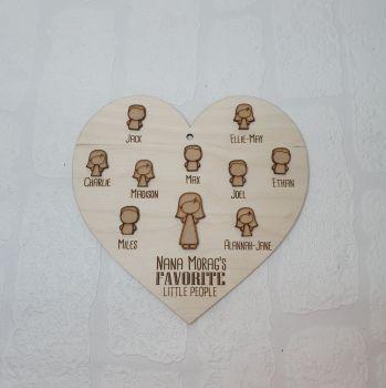 Favorite People Heart 20cm
