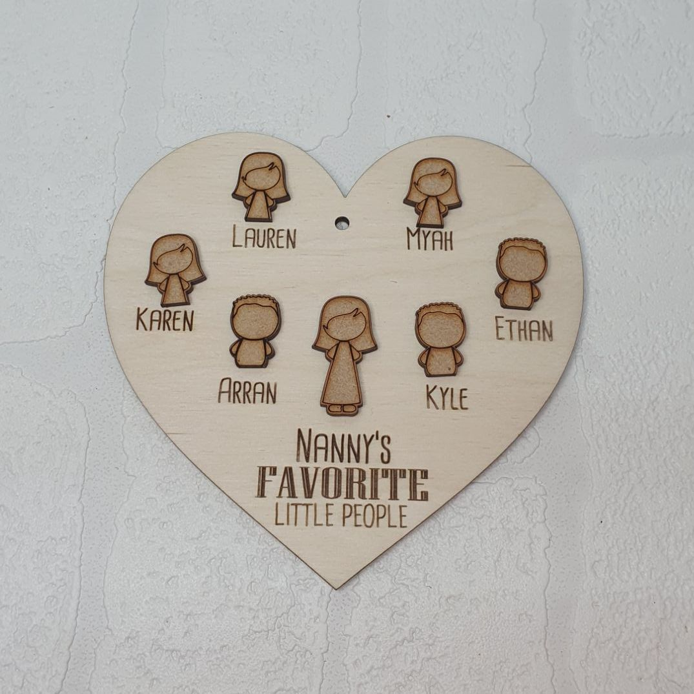 Favorite People Heart 15cm