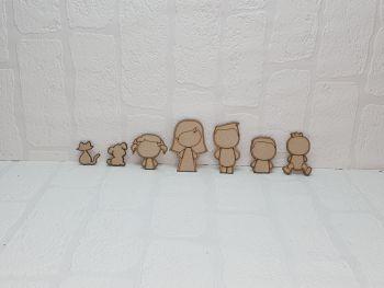Family Figure Packs (half body)
