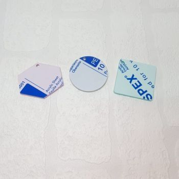 2mm acrylic standard 8cm shape (clear)