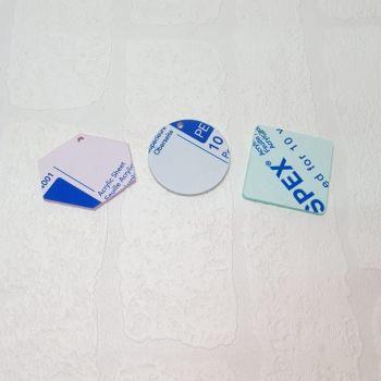 3mm acrylic standard 10cm shape (Standard Colours)