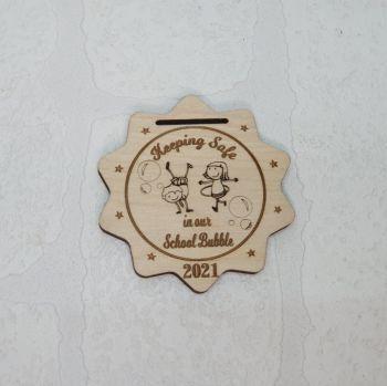 School Bubble Medal