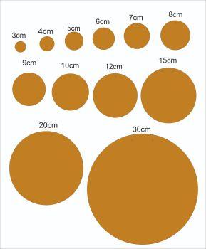 circle  (3mm MDF)