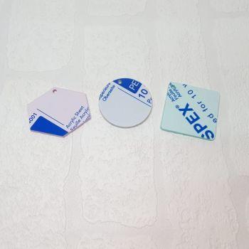 3mm acrylic standard 6cm shape (clear)